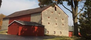 Historic Barn - Garth Oberlander Barn - Delaware County Historical Society - Delaware Ohio