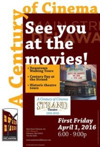 Century of Cinema First Friday Poster Strand