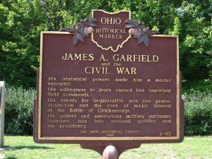 James A. Garfield -Ohio Presidential