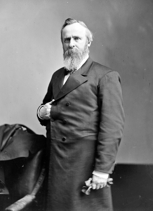 R. B. Hayes Ghost Story - Rutherford B. Hayes - 29th President - Delaware County Historical Society - Delaware Ohio