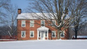 Historic Meeker House - Newsletter Feature - The Delaware County Historical Society - Delaware Ohio