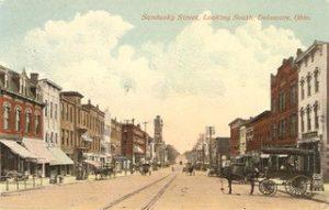 Sandusky Street - History Walks - Delaware County Historical Society - Delaware Ohio