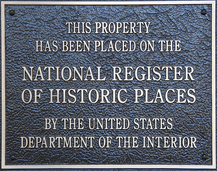 National Registry of Historic Places - Plaque - Delaware County Ohio