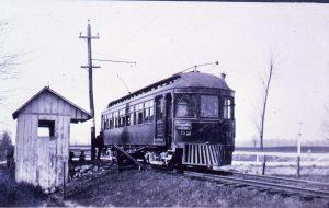 "C.D. & M. ""Redbird"" - Interurban railway - Delaware County Historical Society - Delaware Ohio"