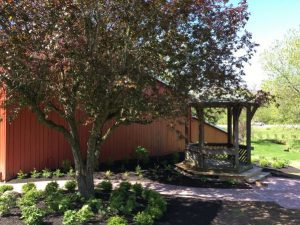Grant Funds - Gazebo - The Barn at Stratford - Barn Wedding Venue - Delaware Ohio