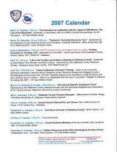 10 years ago - Delaware County Historical Society - Delaware Ohio