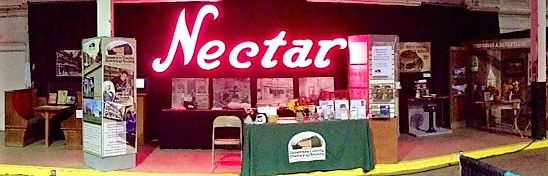 Fair Booth 2017 - Delaware County Historical Society - Delaware County Fair - Delaware Ohio