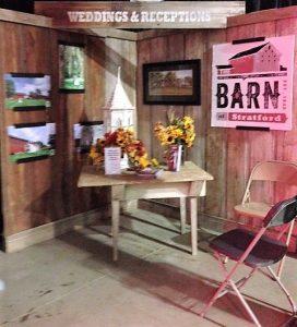 Barn Display - Fair Booth 2017 - Delaware County Fair - The Barn at Stratford - Event Venue - Delaware Ohio