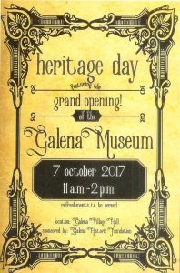 Galena Museum Grand Opening - History - Delaware County Ohio
