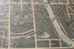 Historical Map - 1890 Delaware City Ohio