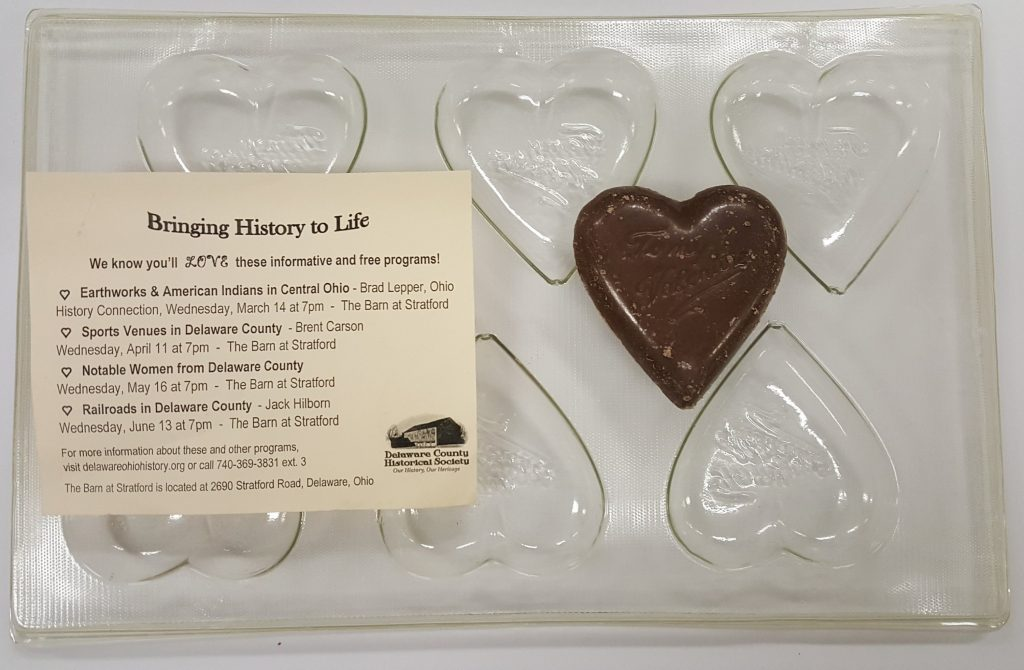 Antique Chocolate Molds - Delaware County Historical Society - Collections