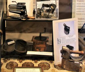 Household Aids - History Display - The Hair Studio - Delaware County Historical Society - Delaware Ohio