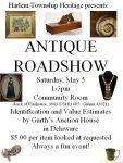 Antique Roadshow - Harlem Twp Heritage - Delaware County History Network - Delaware Ohio