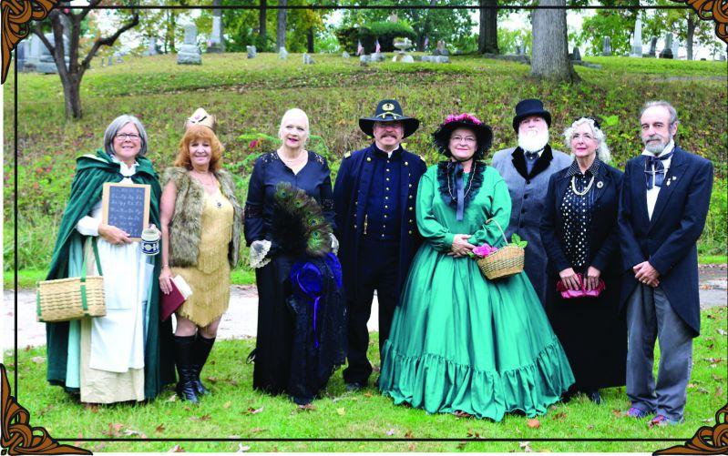 Cemetery Walk - History Program - Oak Grove Cemetary - Delaware County Historical Society - Delaware Ohio