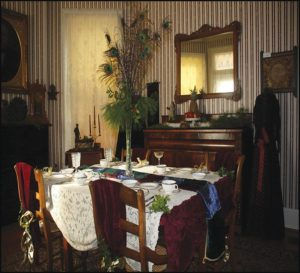 Nash House - Dining Room - Victorian Furnishings