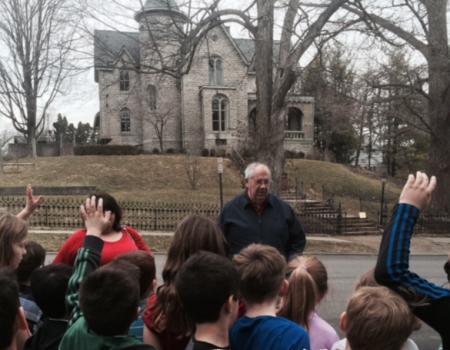 School Local History Program - Walking Tour Winter Street - Delaware County Historical Society - Delaware Ohio