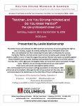 18th Amendment Program - Kelton House - Columbus Ohio