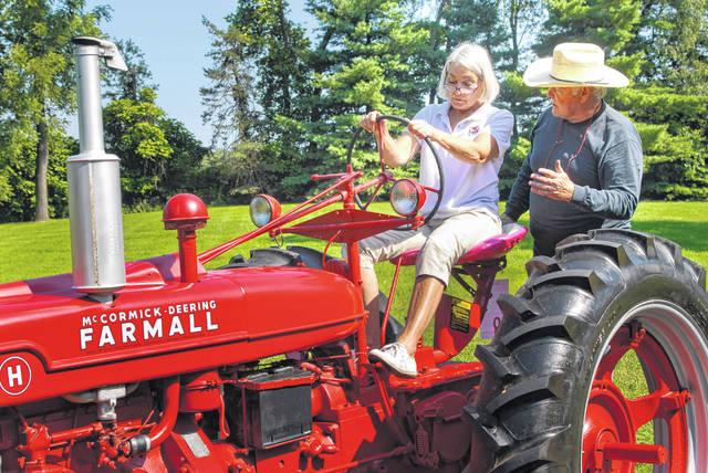 Farmall Tractor New Home - The Barn at Stratford - Event Venue - Barn Weddings - Delaware Ohio
