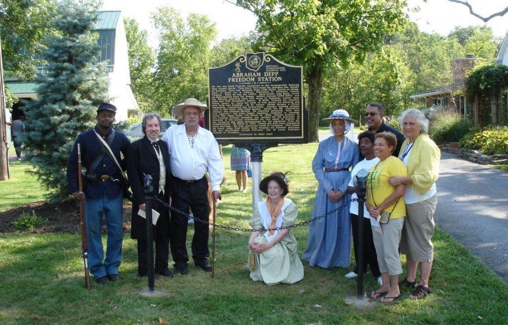 Abrams Freedom Moment - Lucy Depp - Franklinton Historical Society - Columbus Ohio