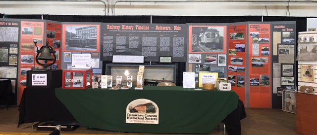 Delaware County Fair Booth - Historical Exhibit - Delaware County Historical Society - Delaware Ohio