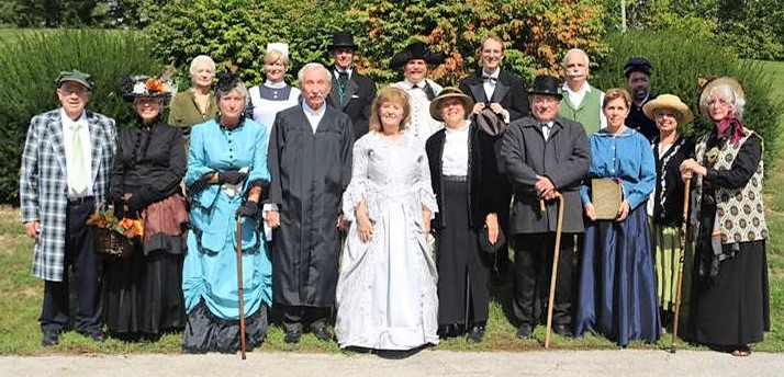 2018 Oak Grove Cemetery Walk - History Walk - Delaware County Historical Society - Delaware Ohio