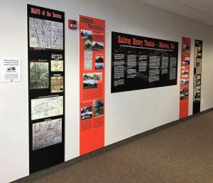 Railroad History Exhibit - Board of Elections - Delaware County Historical Society - Delaware Ohio