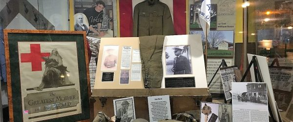 Veteran's Day - World War I - History Display - The Hair Studio - Delaware County Historical Society - Delaware Ohio