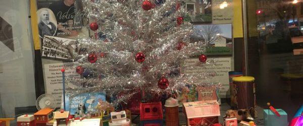 1960s Christmas - History Display - Hair Studio - Delaware Ohio - Delaware County Historical Society