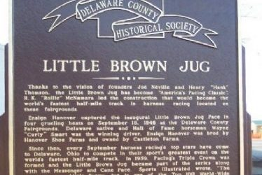 Little Brown Jug Historic Marker
