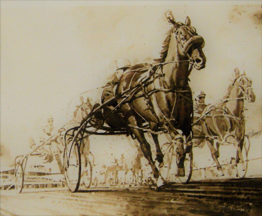 Little Brown Jug Horse Race - Artwork