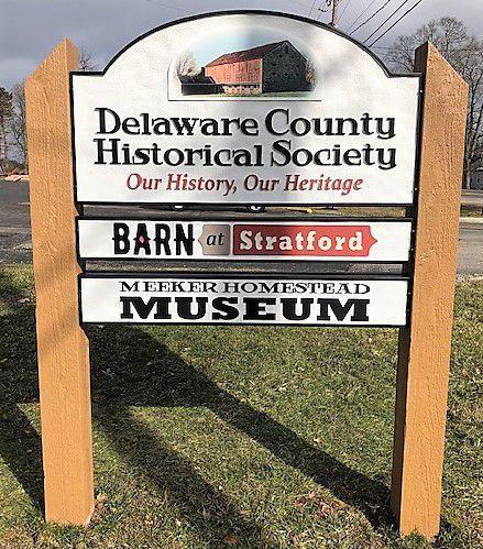 New Signage - The Barn at Stratford - Meeker Homestead - Delaware Ohio