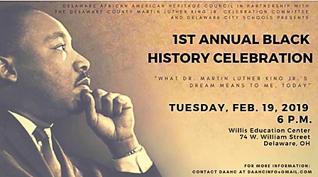 Black History Celebration - Delaware Ohio - Delaware County Historical Society