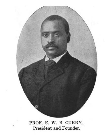 Great Beginnings - The Curry School - Prof E W B Curry - Delaware County Historical Society - Delaware Ohio