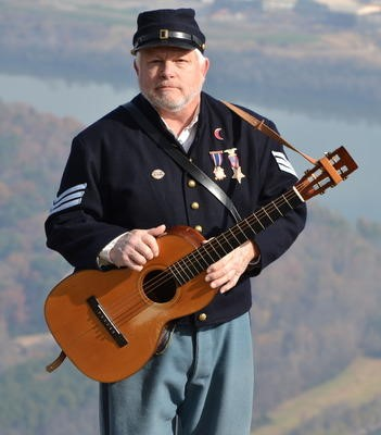Steve Ball - Civil War Musician - DCHS Volunteer Recognition Event - Delaware County Historical Society - Delaware Ohio