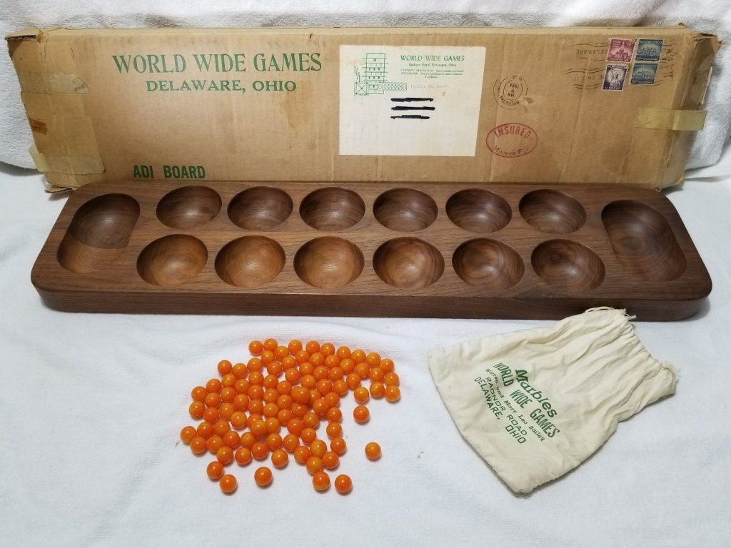 World Wide Games - Delaware Ohio - Marbles and holders