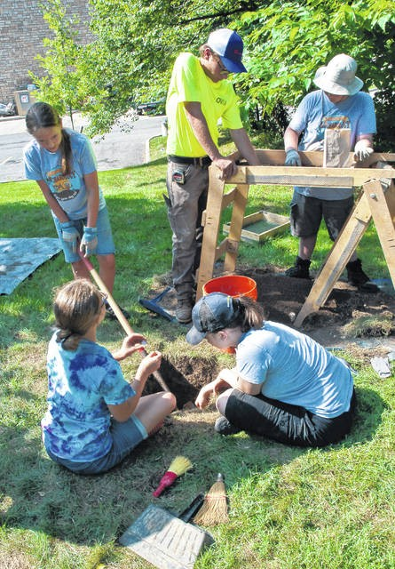 Archaeology Camp - Delaware County Historical Society - Delaware Gazette