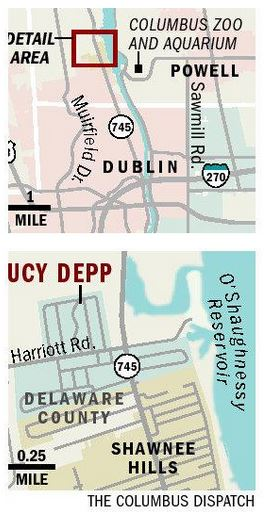 Lucy Depp - Columbus Dispatch - Map Showing Location