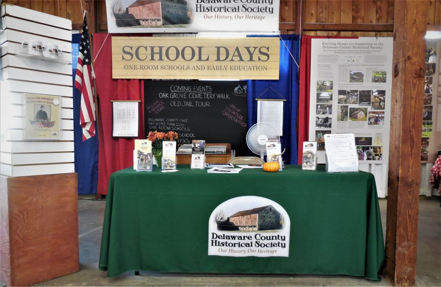 2019 Delaware County Fair - Delaware County Historical Society - Fair Booth - Delaware Ohio