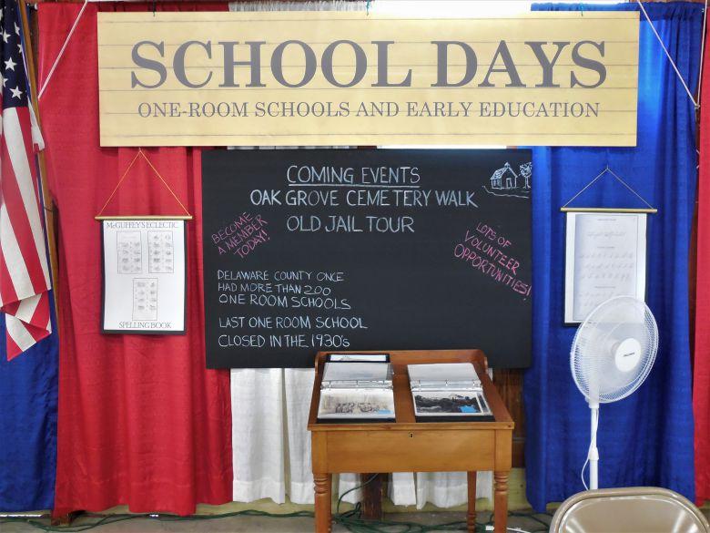 Delaware County Fair 2019 - School Days - Chalk Board