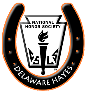 Hayes High School National Honor Society - Delaware Ohio - Logo