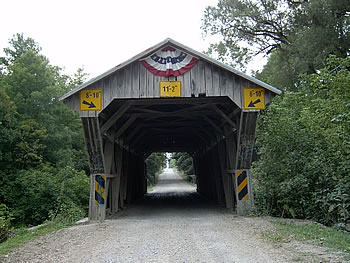Last Covered Bridge - Chambers Road - Delaware Ohio - local history program - Delaware County Historical Society