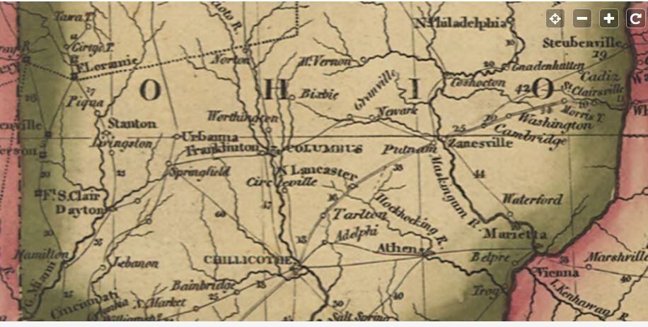 Delaware Map 1816