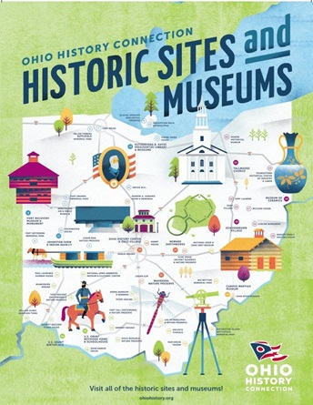 Learn at Home - Ohio History Connection - Locator Map