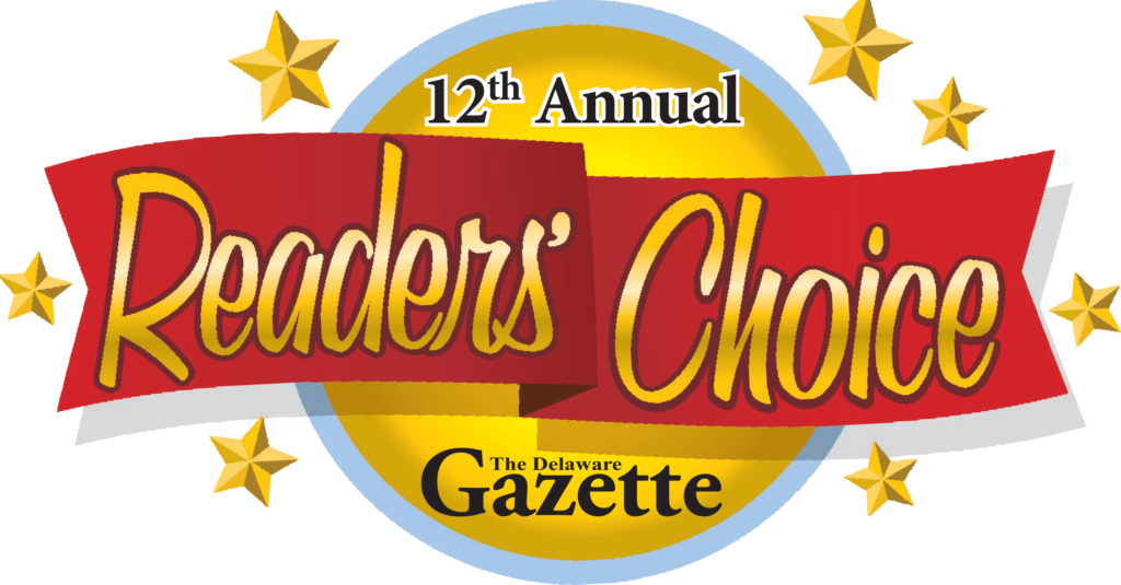 Delaware Gazette 12th Annual Readers' Choice Award 2020