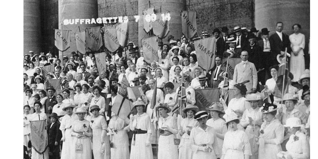 Womens Suffrage - Salem Ohio Convention