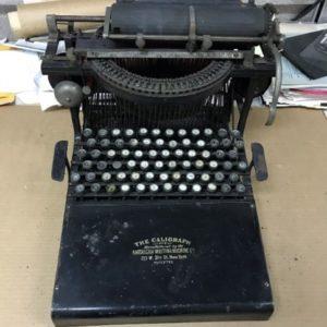 Adopt-a-Memory 1882-90 Caligraph Typewriter