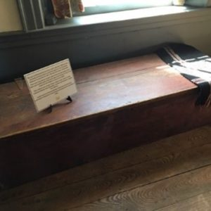 Adopt-A-Memory - Covered Wagon chest 1821