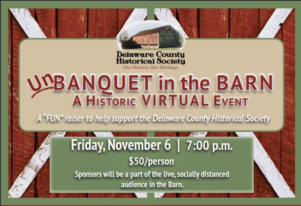 UnBanquet in the Barn - Delaware County Historical Society