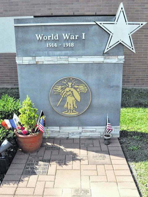 wwi vet honored - World War I memorial
