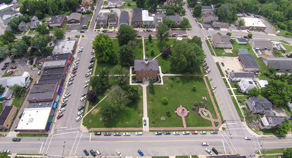 Sunbury Square - Walk around Sunbury Square - Sunbury Ohio